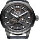 WGA1008.BBB-Extreme Roadster Skeleton Automatic Black/Red - Fiyta