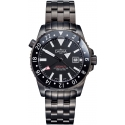 Argonautic Dual Time Automatic Black - Davosa