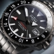161.512.80-Argonautic Dual Time Automatic Black - Davosa