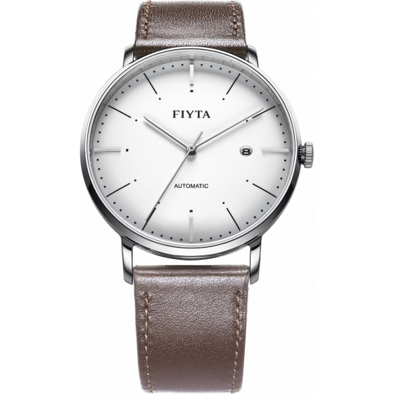 WGA800001.WWR-Classic Automatic Brown Leather - Fiyta