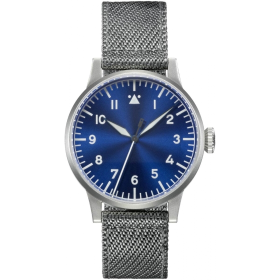 862083-Pilot Watch Type A Memmingen Blue Hour 42mm Handwinding - Laco