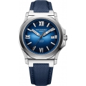 Ice Cliff Automatic Sunray Blue/Nylon - Emile Chouriet