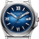 08.1170.G.6.6.N8.2-Ice Cliff Automatic Sunray Blue/Nylon - Emile Chouriet