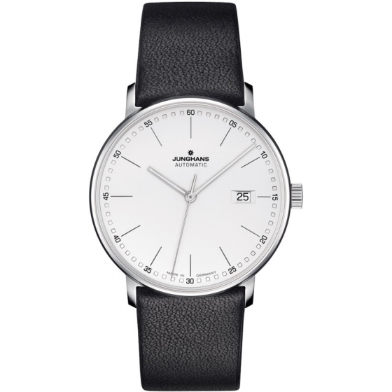 027/4730.00 -Form A Automatic Index Argent/Noir - Junghans
