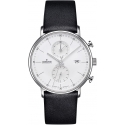 Form C Chronograph Index Acier/Noir - Junghans