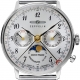 7037M-1-LZ 129 Hindenburg Moonphase 36mm Argent/Milanaise - Zeppelin