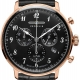 7084-2-LZ 129 Hindenburg Chronograph Or Rose/Noir - Zeppelin