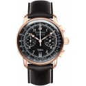 100 Years Chronograph Or Rose/Noir - Zeppelin