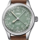 01 754 7749 4067-07 5 17 68G -Big Crown Pointer Date 36mm Green/Light Brown Leather - Oris
