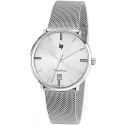 Dauphine 38mm Silver/Milanese - LIP