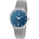 Dauphine 38mm Silver/Blue/Milanese - LIP