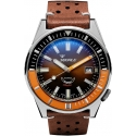 60 Atmos Matic Brown/Orange - Squale