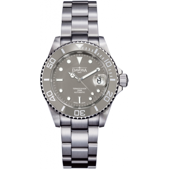 161.555.20-Ternos Ceramic Automatic Grey - Davosa