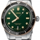 01 733 7707 4357-07 8 20 18-Divers Sixty-Five 40mm Bronze Bezel Green Steel - Oris