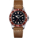 Diver Vintage GMT Quartz Red - Davosa