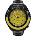101 Atmos 2002 Black Case Yellow/Black/Yellow - Squale
