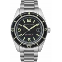 Fleuss Automatic Black Steel SP-5055-44 - Spinnaker