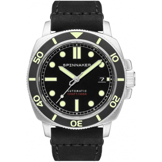SP-5088-01-Hull Diver Automatic Black SP-5088-01 - Spinnaker