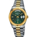 The Classics Automatic Silver/Gold/Green - West End Watch Co.
