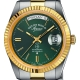 6828.20.3330-The Classics Automatic Silver/Gold/Green - West End Watch Co.