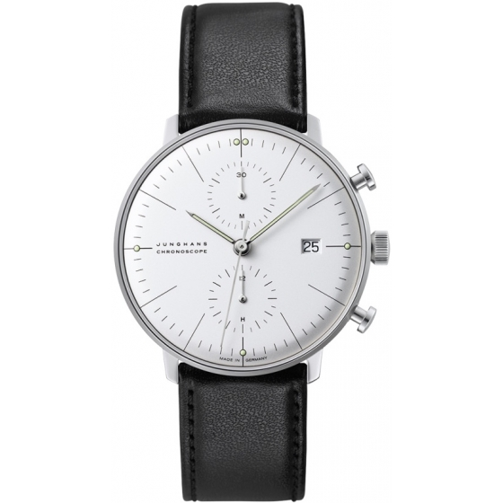 027/4600.04-Max Bill Chronoscope 027/4600.04 - Junghans