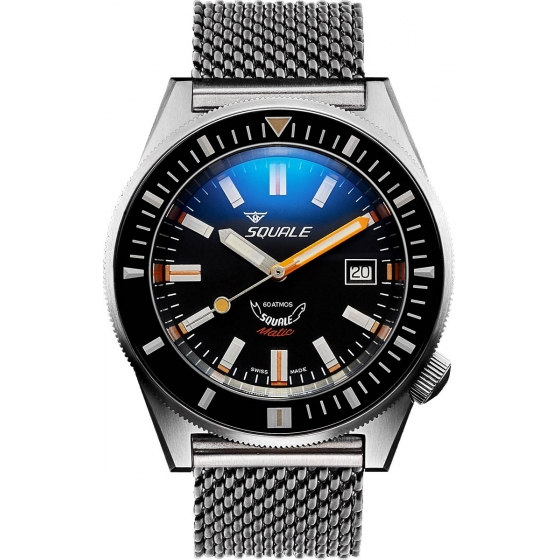 SQ-MATIC-BR-60 Atmos Matic Brushed - Squale