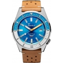 60 Atmos Matic Light Blue - Squale