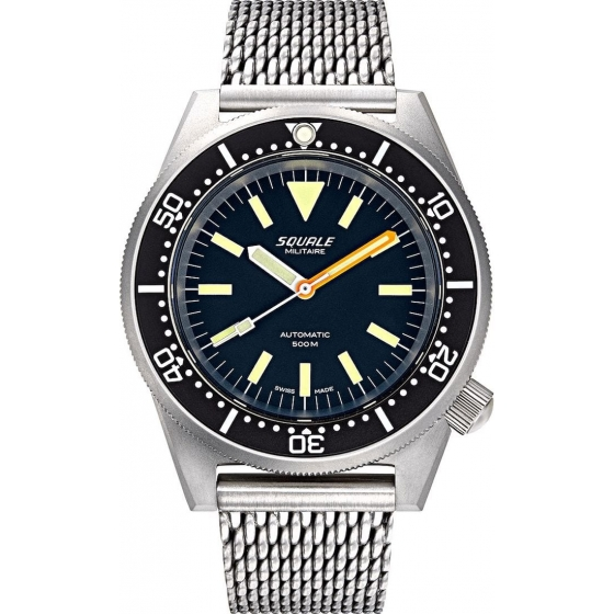 1521MILIBL.ME-1521 Militaire Blasted Mesh - Squale