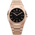 Automatic Steel 41,5mm ROSE GOLD - D1 Milano