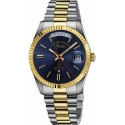 The Classics Automatic Silver/Gold/Blue - West End Watch Co.