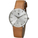 Dauphine 38mm Silver/Gold Leather - LIP
