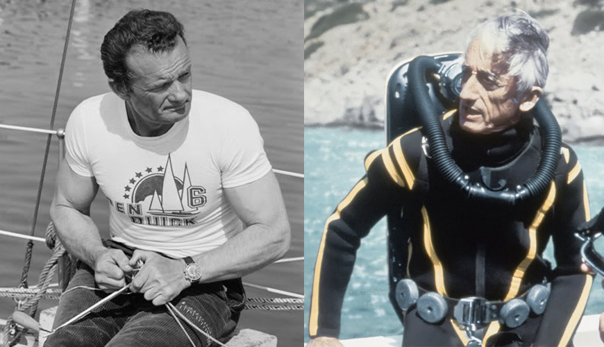 Lip Nautic Ski : Eric Tabarly & Cousteau