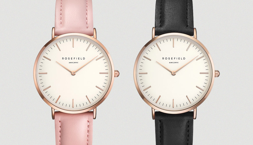 Montre Rosefield The Bowery